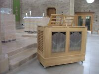 Organ Pipe continuo box organ