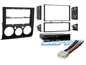 2004 2012 galant car stereo radio dash installation trim kit with wiring harness - Mitsubishi Galant 2012 Aux Jack