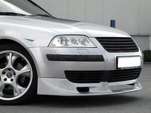 VW Passat B5.5 3BG Badgeless Debadged V6 W8 Euro Sport Front Grill 01-05 No