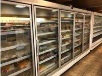 Display Freezer & Compressor 4 Door