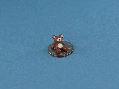 SUPER CUTE! 1:12 Scale Dollhouse Miniature Itty Bitty Teddy Bear #CARF6530