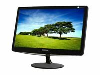Excellent Samsung b 2430h Pro 24 inch Widescreen Hi Def HDMI Monitor +power + hdmi cables