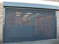 Made to measure Roller shutters and gates supplied and installed