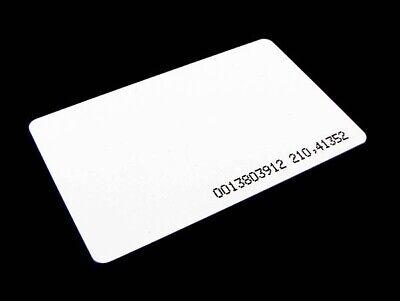 125khz Rfid Identification Id Proximity Card Em4100 0.8mm - Pack Of 10