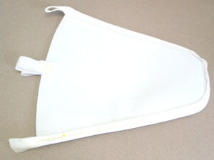 MAPLE SYRUP FILTER CONE - SYNTHETIC ORLON - 8 QUART - FOOD SAFE FILTERS