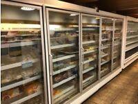 4 door display freezers and compressor