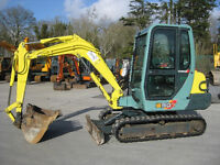 Green Star Excavator digger Hire with Operator