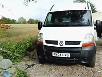Renault Master MWB. 2.5dci 100. 2004 Private Use. Woodlined. Towbar. Ready for work.