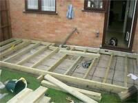 Garden rooms-decking...