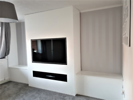 TV FEATURE WALL INSTALLATION