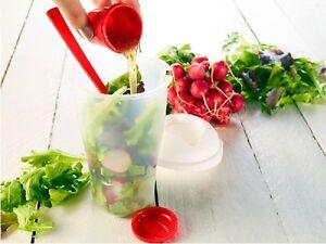 salat to go becher mit dressingbeh lter gabel. Black Bedroom Furniture Sets. Home Design Ideas