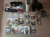 Xbox 360 Slim Console 15 Games Kinect Make Me An Offer!