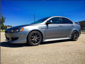 2014 Mitsubishi Lancer SE Sedan 2.4L CVT w/ Paddle Shifters