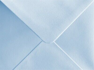 Baby Blue Envelopes Pearlescent C6 Gummed Flap 100gsm Pack of 25 by Cranberry