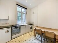 2 bedroom flat, near Kings Cross, spacious kitchen, separate WC, no lounge - newly refurbished.