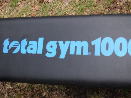 Total Gym Equipment 1000 good condition Gladesville Ryde Area Preview