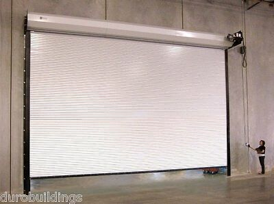 Durosteel Janus 16x12 Commercial 2500i Insulated Heavy Duty Rollup Door Direct