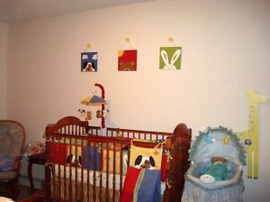 Gender neutral nursery set