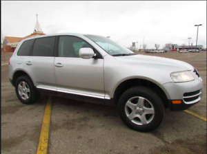 2007 Volkswagon Touareg with low kms for sale