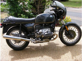1981 BMW R100cs first registered Nick Mason from pink floyd