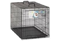 "Large aspen 38"" wire dog crate - almost new!"