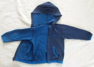 Adidas Boys Reversible Hooded Zip-Up Sweater 3T