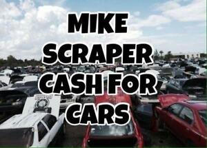 MIKE SCRAPER WE PAY THE HIGHEST FOR SCRAP CARS 416-904-7840