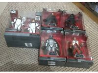 Bnib starwars elite series figures 5 in total including han and luke in iconic stormtrooper outfits
