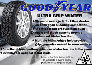 P185/70R14 Studded Winters on rims