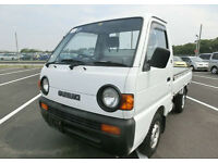 SUZUKI CARRY PICK UP * ONLY 7000 MILES FROM NEW * 4X4 * CHOICE OF TWO
