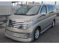 NISSAN ELGRAND E51 3.5 VG AUTECH RIDER STYLING * 8 SEATS OVER 200 CARS IN STOCK
