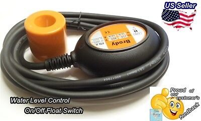 Brody Automatic Float Switch Water Level Sensor Onoff Control With 10 Cable