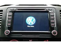VW in car sat nav DVD player factory system