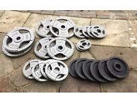 Olypmic Metal Weights Set