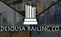 Never paint your railings again! Call DeSousa Railing Co.