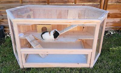 ig VILLA Nagerkäfig Hamsterkäfig Stall Meerschweinchen Käfig (Hase Wars)