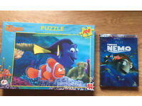 Finding Nemo Collectors Edition DVD & Jigsaw Puzzle