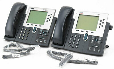 Mixed 2x Cisco Cp-7960g7961g Digital Desktop Office Ip Voip Phone Telephone