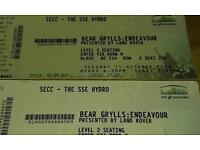 Bear grylls tickets