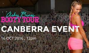 2 x VIP Tickets to Ashy Bines Canberra Booty Tour Capital Hill South Canberra Preview