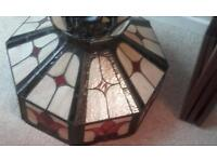 Antique beautiful large tiffany lampshade ideal for restaurant or home
