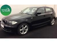 £205.14 PER MONTH BLACK 2011 BMW 116D 2.0 SPORT 5 DOOR DIESEL MANUAL