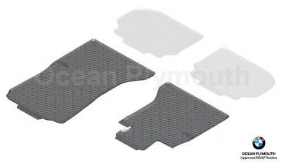 Genuine BMW All Weather Rubber Front Floor Mats RHD 5 Series F10F11 51472350432