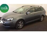 £155.10 PER MONTH GREY 2011 VW GOLF 1.6 TDI SE DSG ESTATE DIESEL AUTOMATIC
