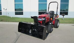 MAHINDRA MAX 24HST TRACTOR / FRNT MOUNT SNOWBLOWER