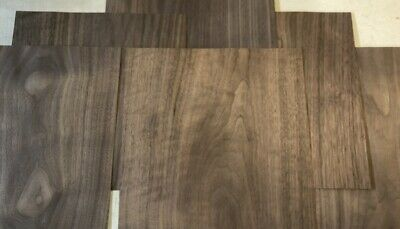 6 Walnut Wood Veneer 12 X 12 Sheets Pieces