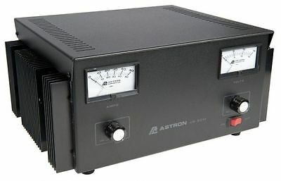 Astron Power Supply - 50 Amp With Meters Adjustable Volt - Amp Vs-50m