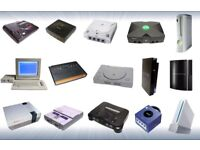 games consoles wanted sega/xbox/playstation/nintendo etc stockport area