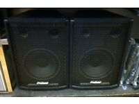 Pair of prosound ps 120 passive speakers for sale