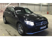 BLACK MERCEDES-BENZ GLC 220 D 2.1 SPORT PREMIUM PLUS FROM £150 PER WEEK!